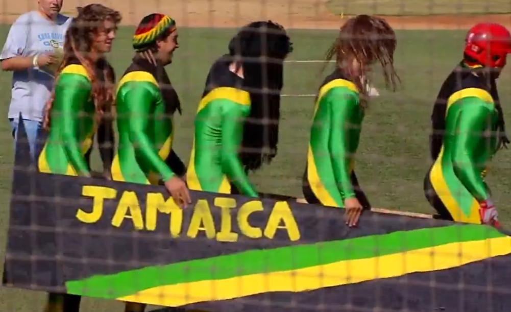 Jamaican Bobsled Team Costume Team Costumes Bobsled Team Costumes