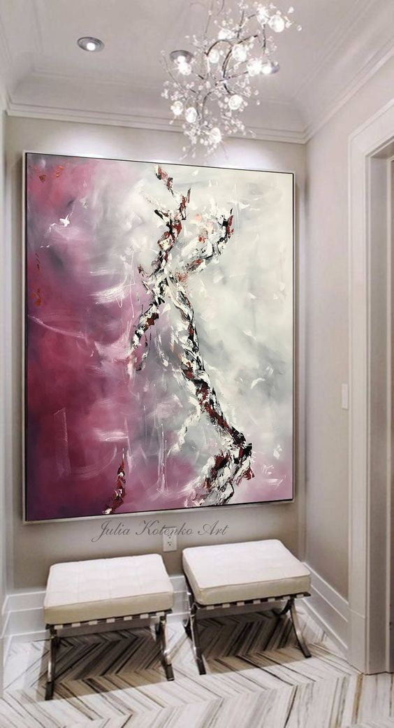 Original Large Abstract Painting Wall Art Wall Decor Modern Art Original  Painting With Texture Abstract Painting On Canvas By Julia Kotenko |  Pinterest