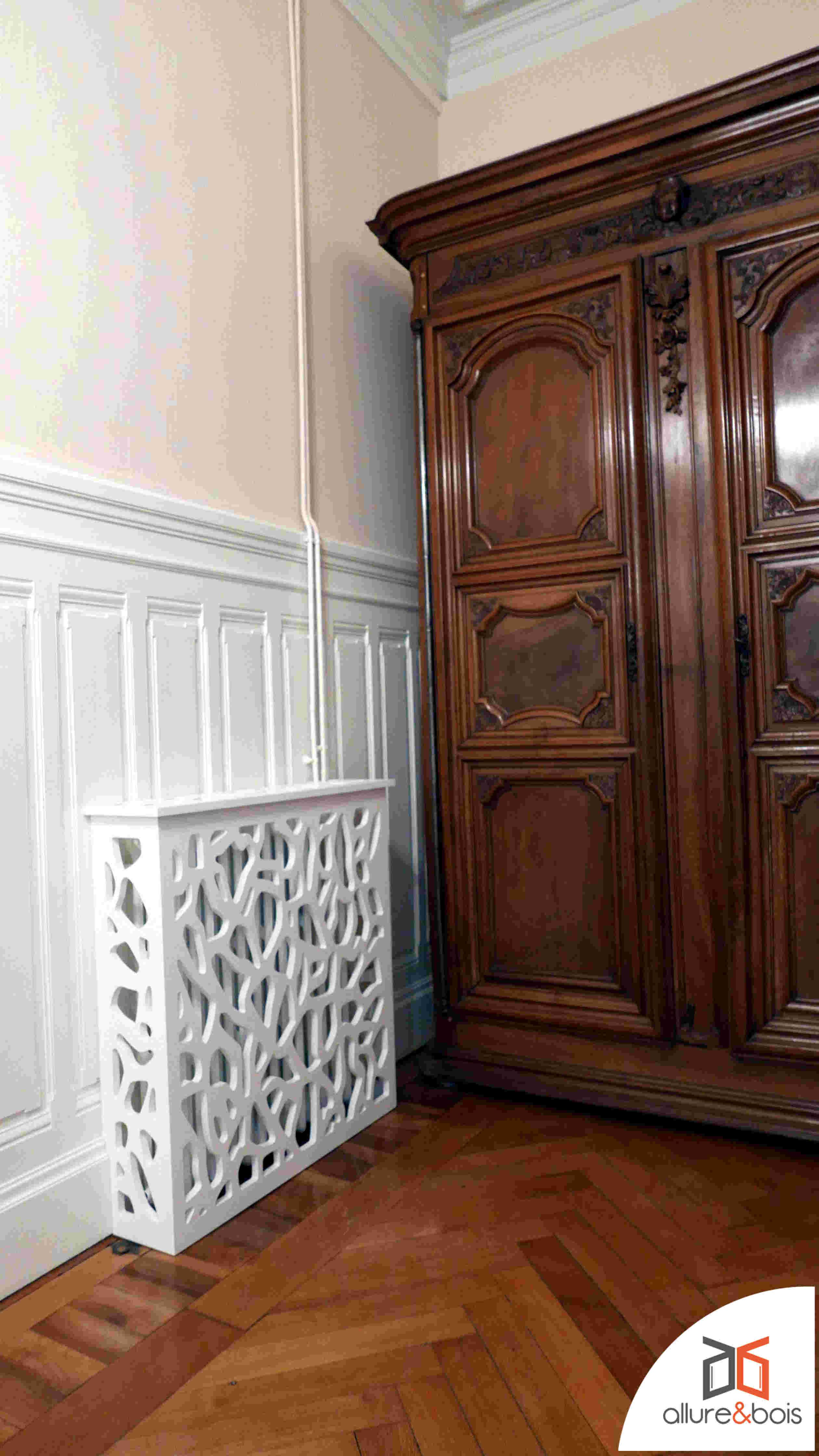 Comment Cacher Un Vieux Radiateur claustra bois mucida   claustra bois, cache radiateur et