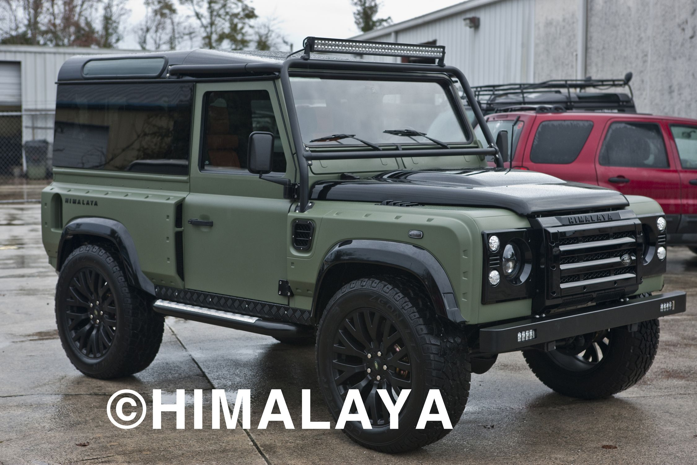 himalaya 4x4 custom land rover himalaya land rovers land rover defender 4x4 land rover. Black Bedroom Furniture Sets. Home Design Ideas