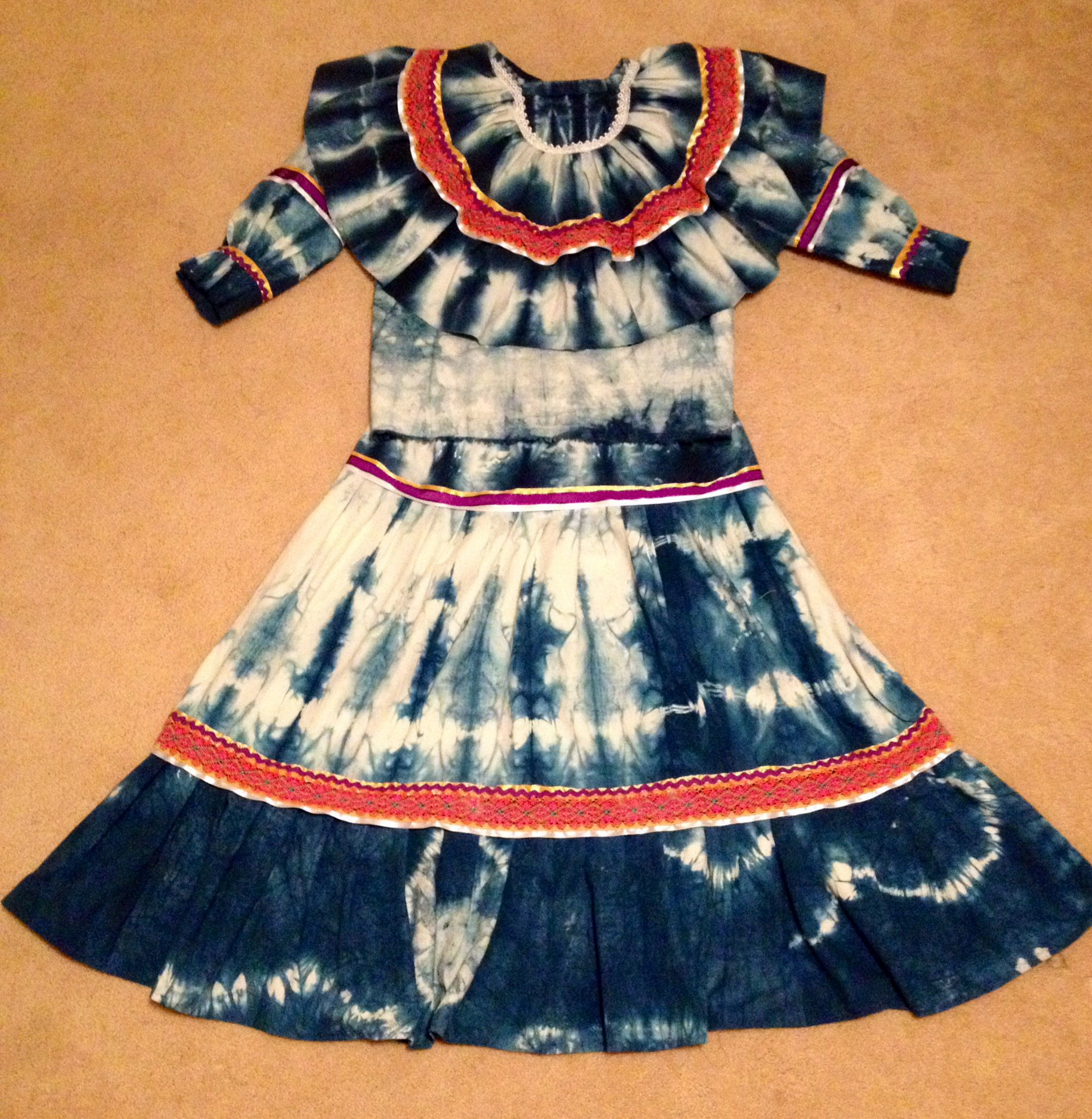 South Eastern Woodlands Stomp Dance Dress created by Pura Fe ...