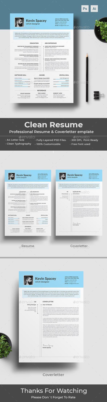 Resume Resume cover letter template, Resume design