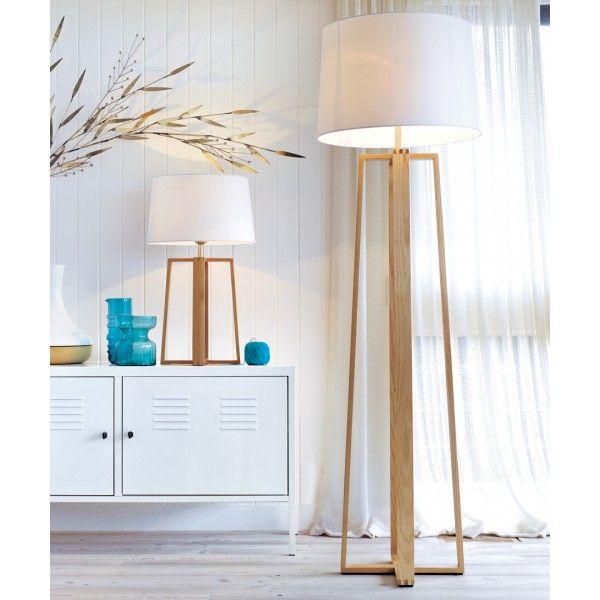 Copenhagen Floor Lamp in Teak | Home management Business ...