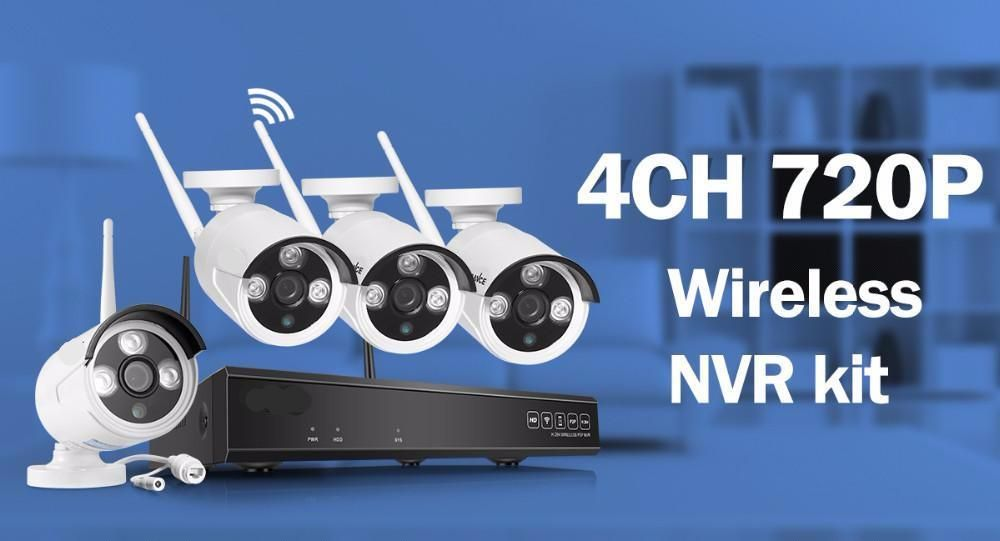 Wireless 4CH 720p HD Security System