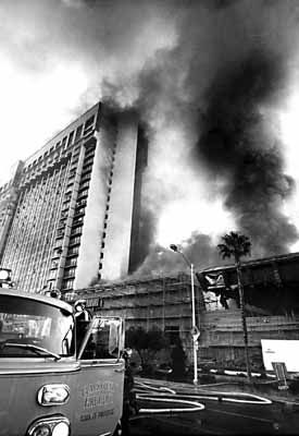 Mgm Grand Hotel Fire 1980 Now Bally S We Were There A