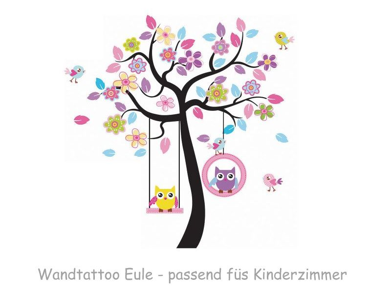 Wandtattoo Kinderzimmer Eulen | Kinderzimmer | Pinterest ...