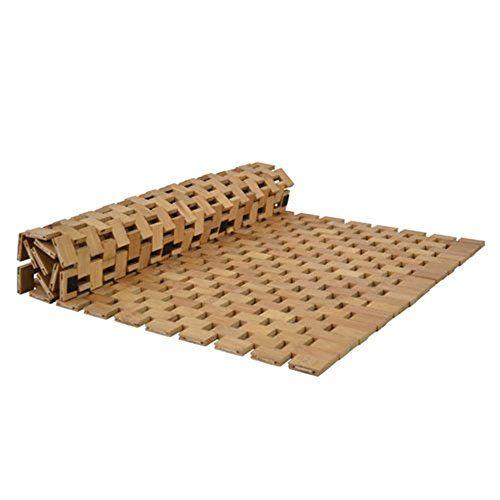 Schön Fussmatte Fussabtreter Badmatte, Badezimmermatte Aus Bambus 80x50x0,6 Cm