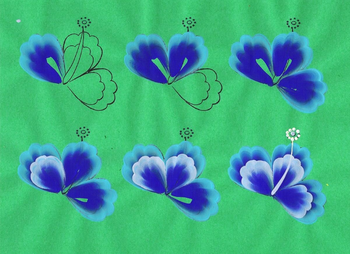 Plantillas Para Imprimir Y Practicar Pinceladas Basicas - BsF 30 ...