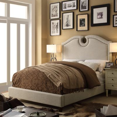 Mulhouse Furniture Elio Queen Upholstered Panel Bed Upholstery: