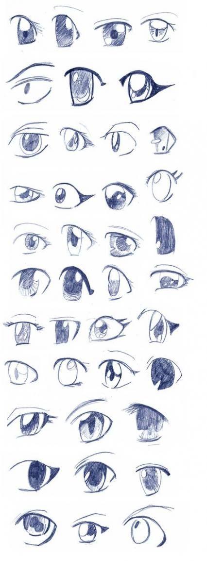 Easy Anime Face : anime, Drawing, Anime, Ideas, #anime, #drawing, #Easy, #eyes, #Ideas, Eyes,, Drawing,