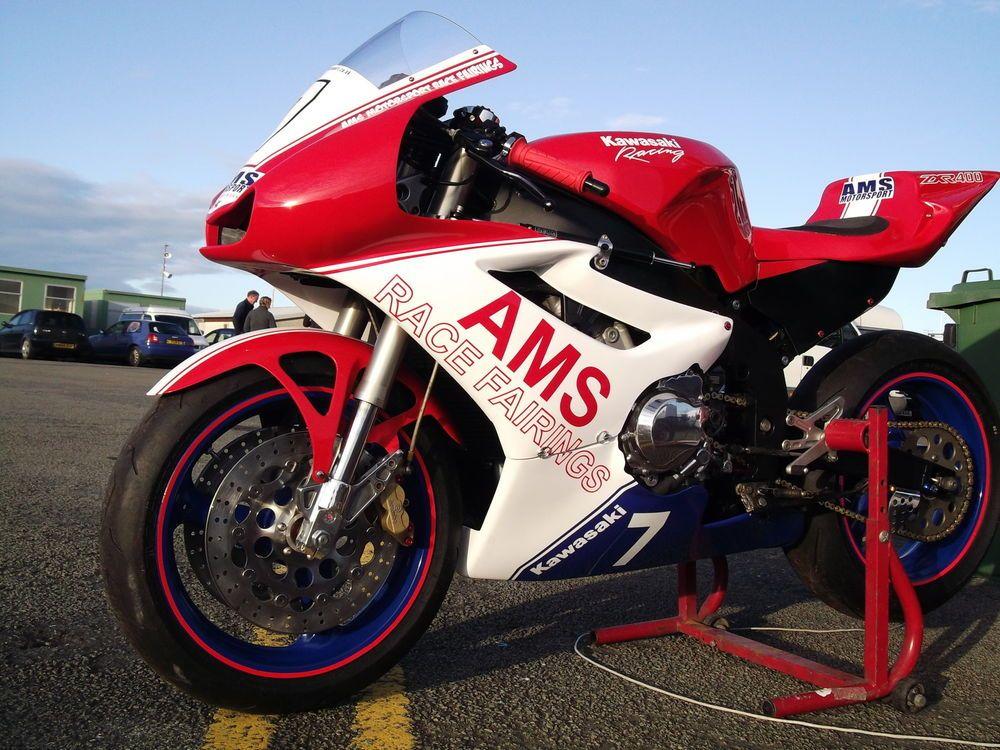 Kawasaki zxr400l race fairings+seat race track kit evo2