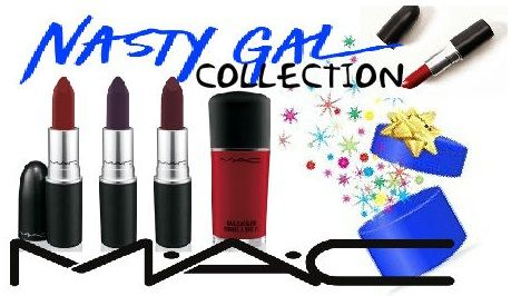 M.A.C.  Nasty Gal Collection. Runner, Stunner, Gunner. Get yours www.cosmeticdesires.com #NastyGalCollection #cosmetics #like4like #maccosmetics #mac