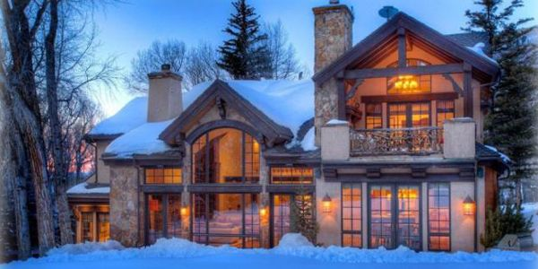 Loving This Mountain Mansion In Aspen My Next Home