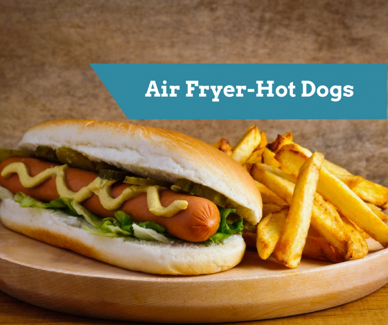 Air FryerPerfectly Cooked Hot Dogs Air fryer hot dog