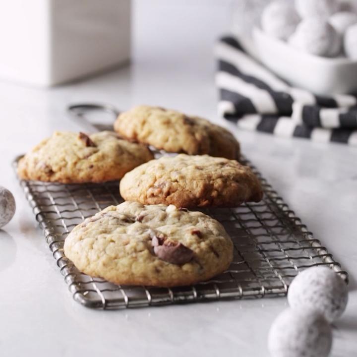 Photo of Coconut Toffee Macadamia Cookie Recipe