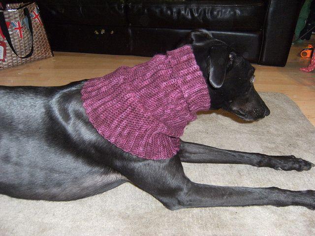 greyhound snood pattern by Katherine Mills