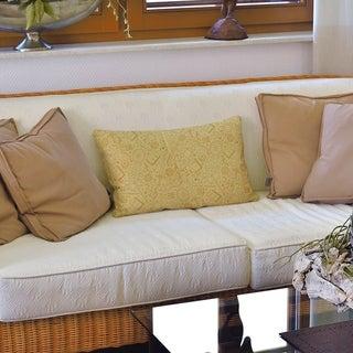 Full Color RPG Pattern Lumbar Pillow (Yellow - Cotton)