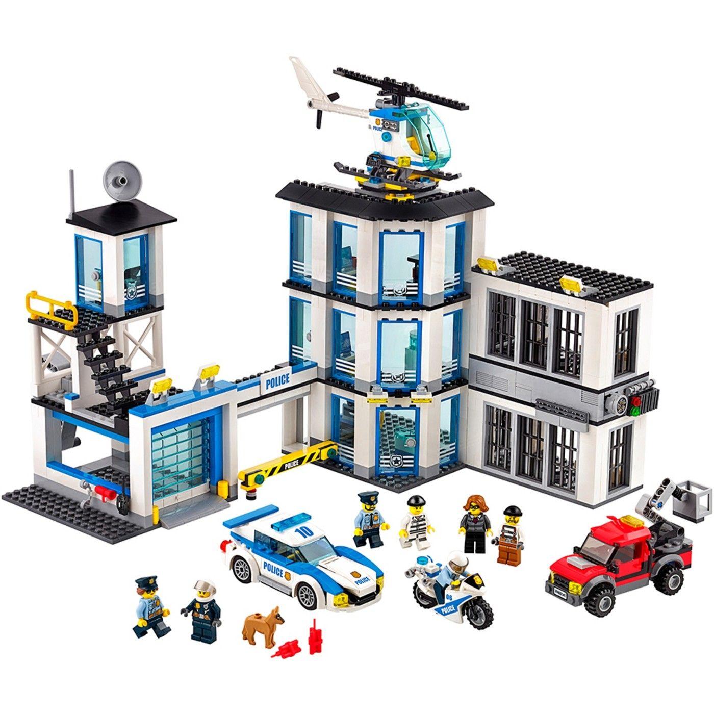 Lego City Police Police Station 60141 Image 1 Of 25 Lego City Police Station Lego Police Station Lego City Police