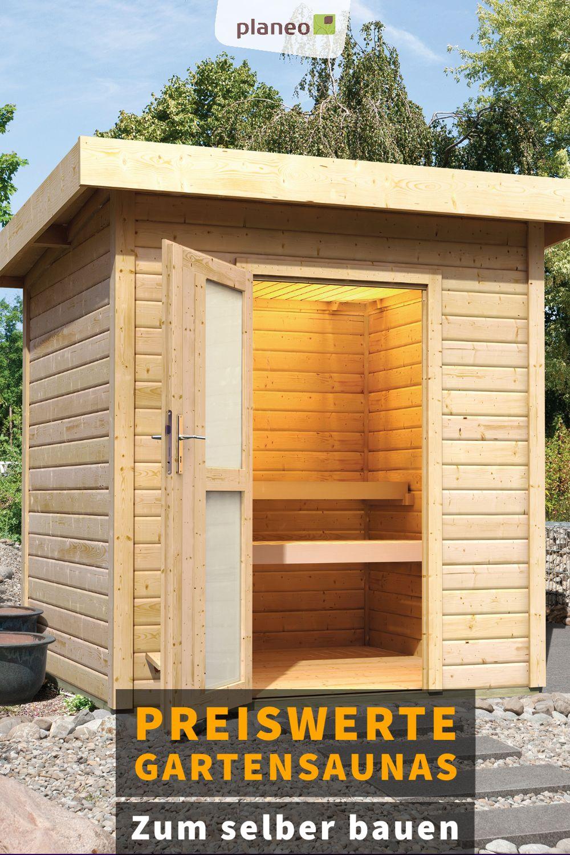 Moderne Gartensaunas Fasssaunas Und Saunahauser Zum Selber Bauen Gartensauna Sauna Selbst Bauen Saunahaus Garten