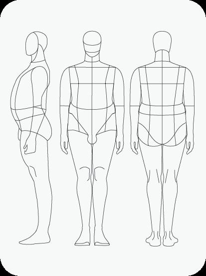Download Fashion Figure Templates Prêt à Template Poses