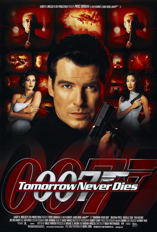 Tomorrow Never Dies 1997 Carteles De Cine Peliculas De James