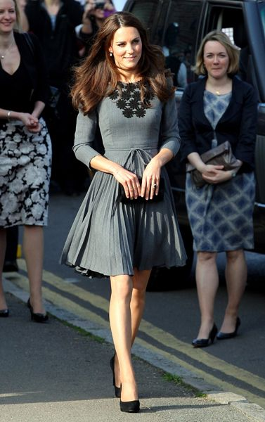 Kate Middleton Style - Orla Kiely, Dulwich Picture Gallery, 15th March 2012