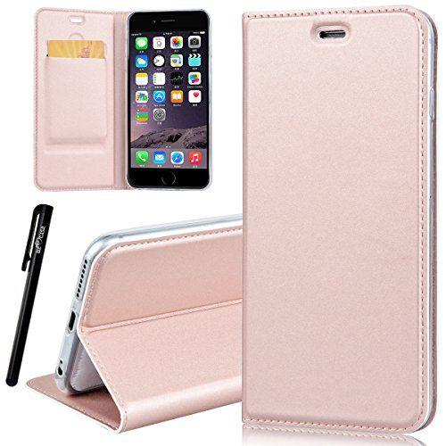 coque iphone 6 rabat rose