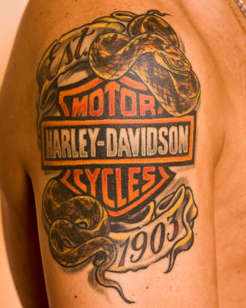 harley davidson tattoos design #tattoodesigns #tatto #tattoideas