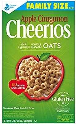 Amazon.com: Apple Cinnamon Cheerios Gluten Free Breakfast ...