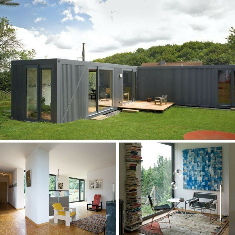 ContainerLove Shipping Container Home | Tattoo ideen | Haus ...