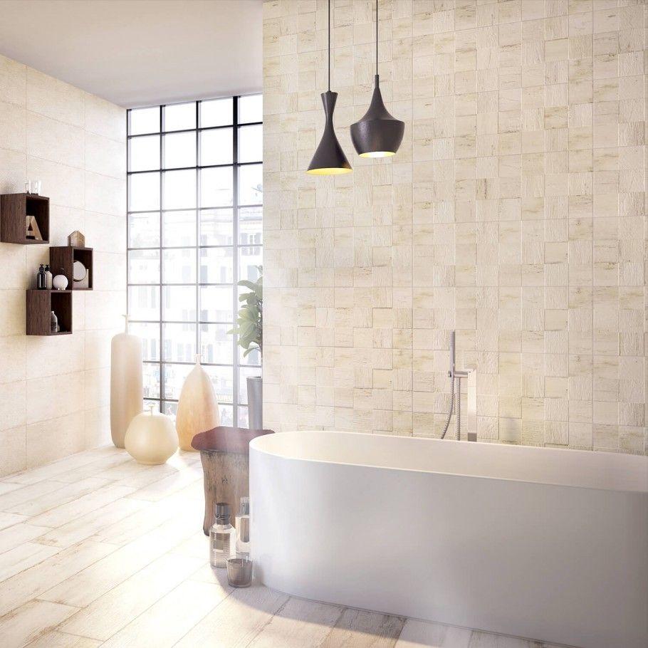 Trouvaille Linen 3D 12x32 Ceramic Tile | Linens, 3d and Porcelain