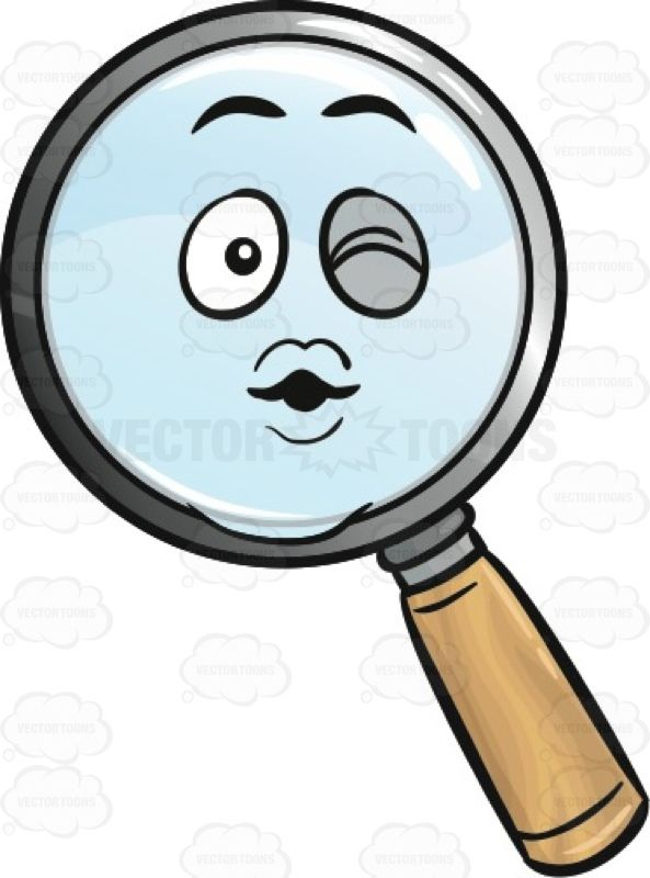 Magnifying Glass Blowing A Kiss Emoji #amplify #blowup #blowingakiss #clipart…