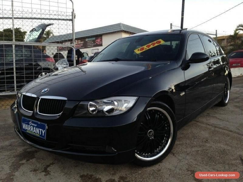 2005 BMW 320i E90 Executive Black Crystal Automatic 6sp A
