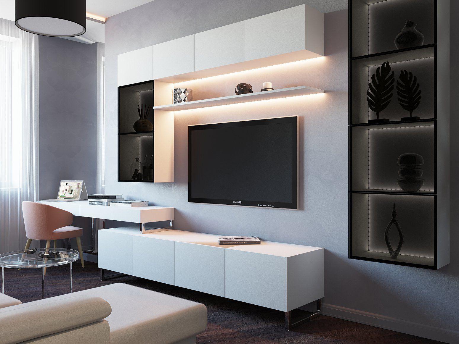 Moderne Wohnzimmer Beispiel Einrichtungsideen Renovieren Ideen