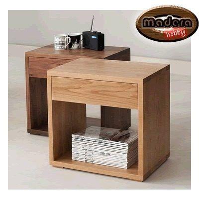 mesa de noche hecho en melamina | Fabrikideas | Pinterest | Mesita ...