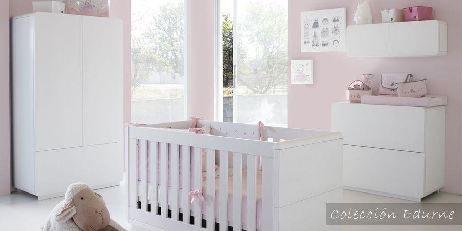 Muebles para habitación de bebé - cuna convertible en cama y ...