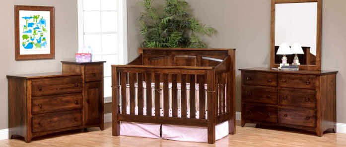 third image of Usa Made Eco Friendly Nursery Furniture Amish Baby with USA Made Eco Friendly Nursery Furniture, Amish Convertible ...