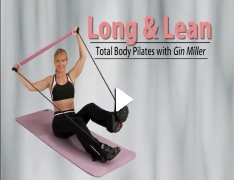 Long & Lean Toning Bar DVD with Gin Miller