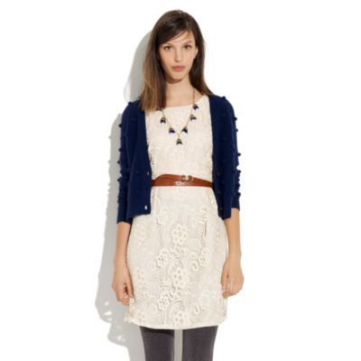 Sweater to wear with lace dress