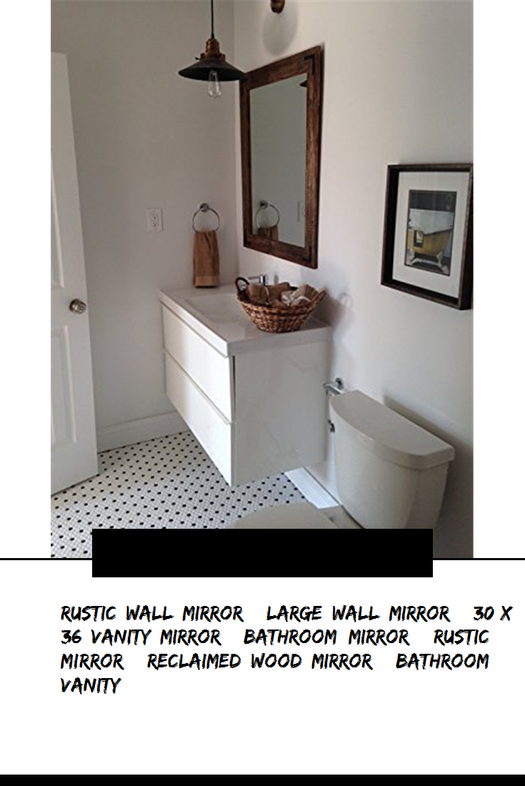 Rustic Wall Mirror Large Wall Mirror 30 X 36 Vanity Mirror Bathroom Mirror Rustic Mirror R Wood Mirror Bathroom Reclaimed Wood Mirror Bathroom Mirror [ 1100 x 735 Pixel ]