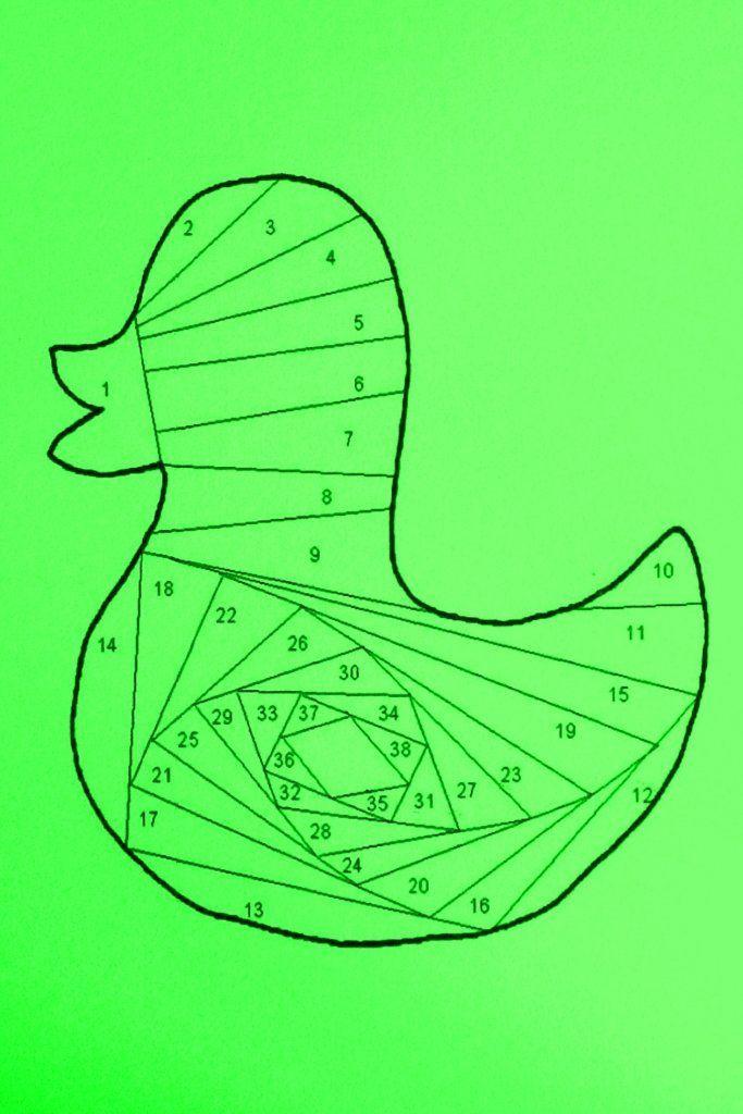 Айрис фолдинг: схемы, шаблоны, картинки для детей и начинающих