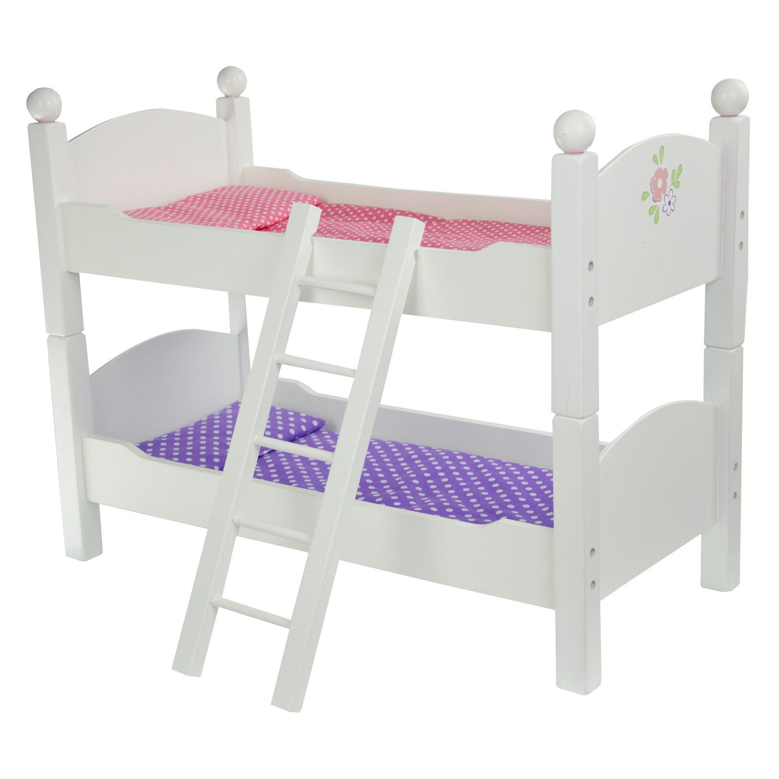 Teamson Kids Little Princess Doll Double Bunk Bed TD 0095A