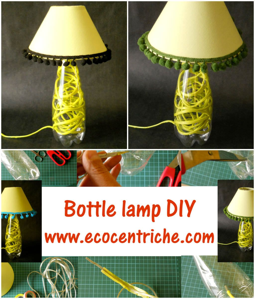 Recycled Plastic Bottle Lamp Plastic Bottle Lamp Recycling Projects Ideas Pinterest