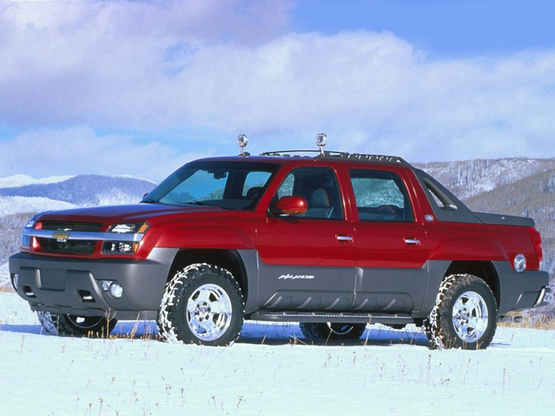 2000 Chevrolet Avalanche Concept Chevrolet Avalanche Concept Cars