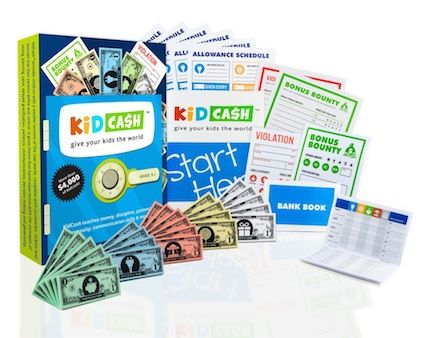 The KidCash reward system is a realistic money-based tool that would be a great gift for children with ADHD who struggle to understand consequences.