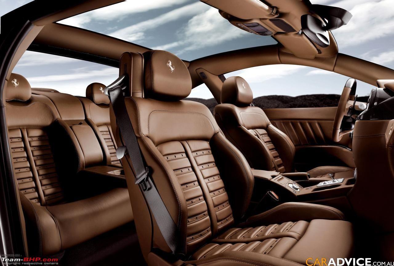 Seat Covers Ovion 2008 Ferrari 612 Interior Jpg Interiores De Coches Autos Ferrari Autos