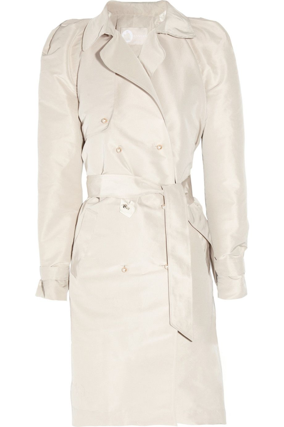 LANVIN  Embellished taffeta trench coat  £3,242.15