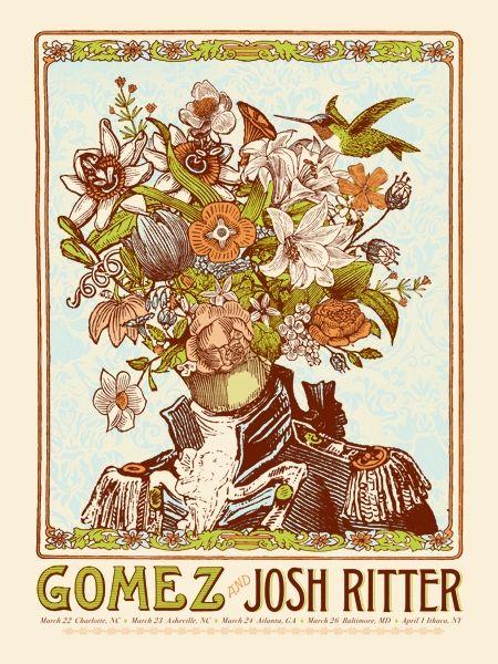 NateDuval.com: gomez and josh ritter