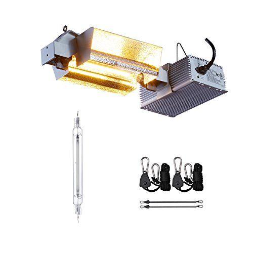 Topolite De 1000w Grow Light Kit Double Ended Hps Grow Light Fixture Complete Hydroponics Growing System De 1000 Grow Light Fixture Hps Grow Lights Grow Lights