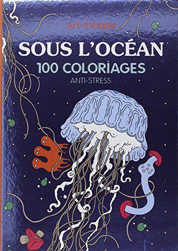 coloriage anti stress sous l'océan